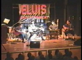 Joe Marino and All The King\'s Men Elvis Presley 1968 Comeback Special show