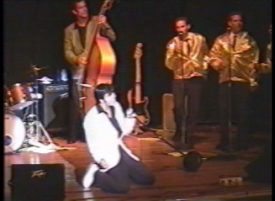 Joe Marino and All The King\'s Men band Elvis 1956 concert