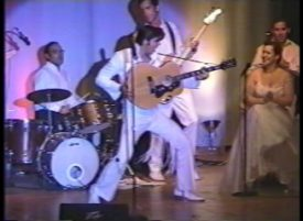 Joe Marino and All The King\'s Men band Elvis 1970 Las Vegas concert