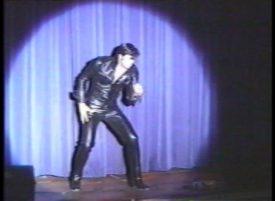 Joe Marino as Elvis Presley 1968 Comeback Special concert