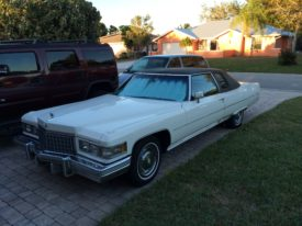 Joes 1976 Cadillac Coupe deVille