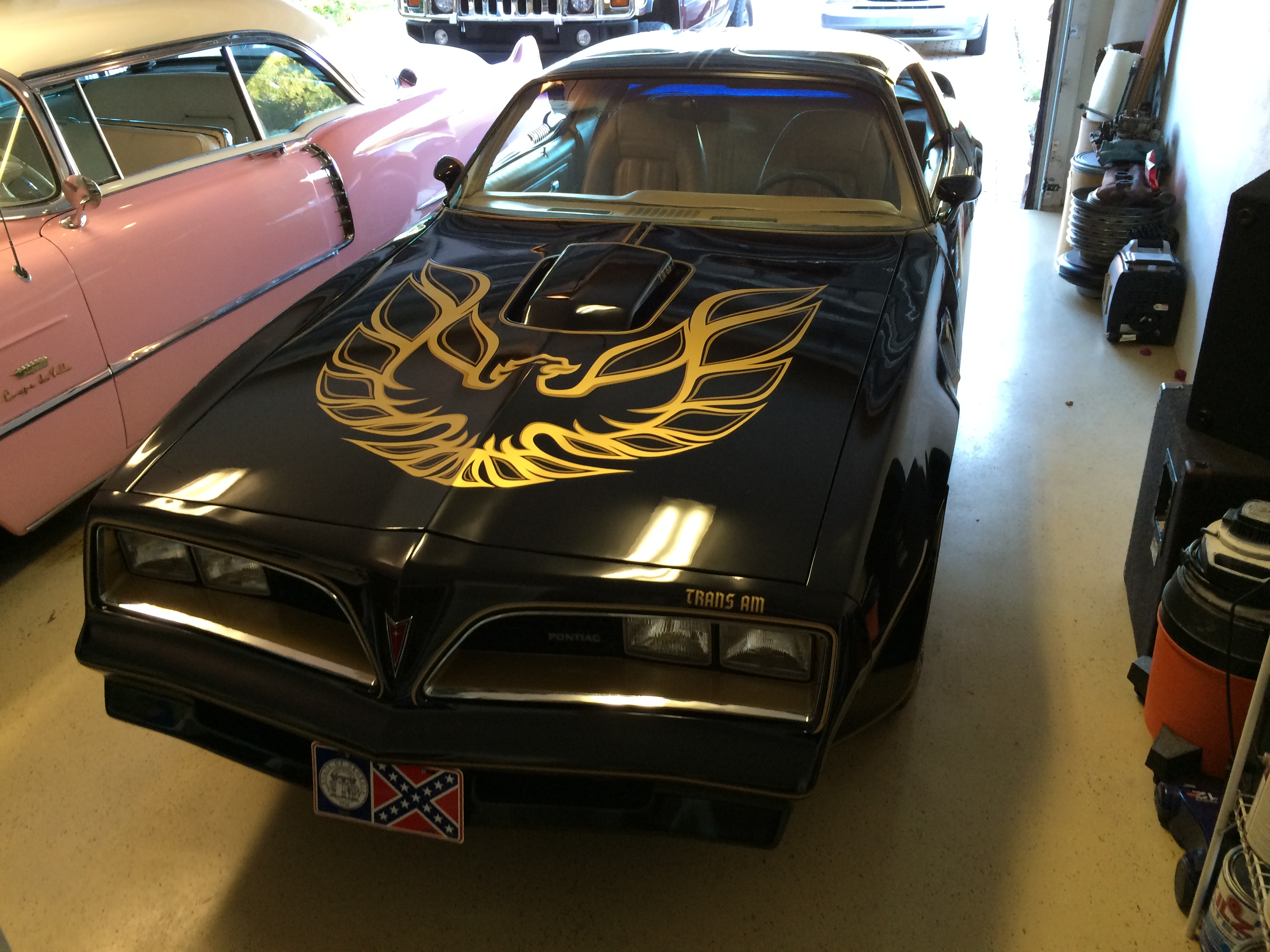 Joe's 1977 Pontiac Trans Am Special Edition Smokey and the Bandit Tribute Car