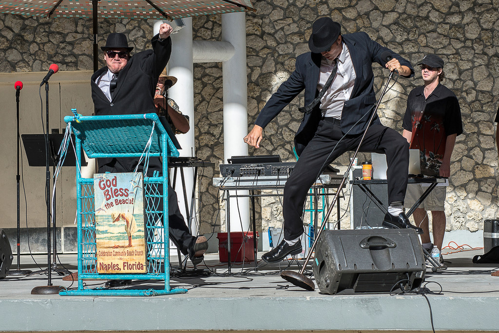 Joe Marino and Gene Scott as The Blues Brothers