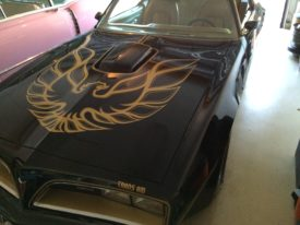 Joes 1977 Pontiac Trans Am Special Edition Smokey and the Bandit Tribute Car