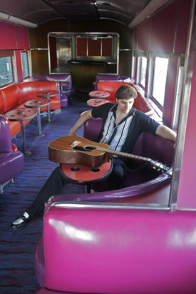 Joe Marino on the Mystery Train Memphis Tennessee