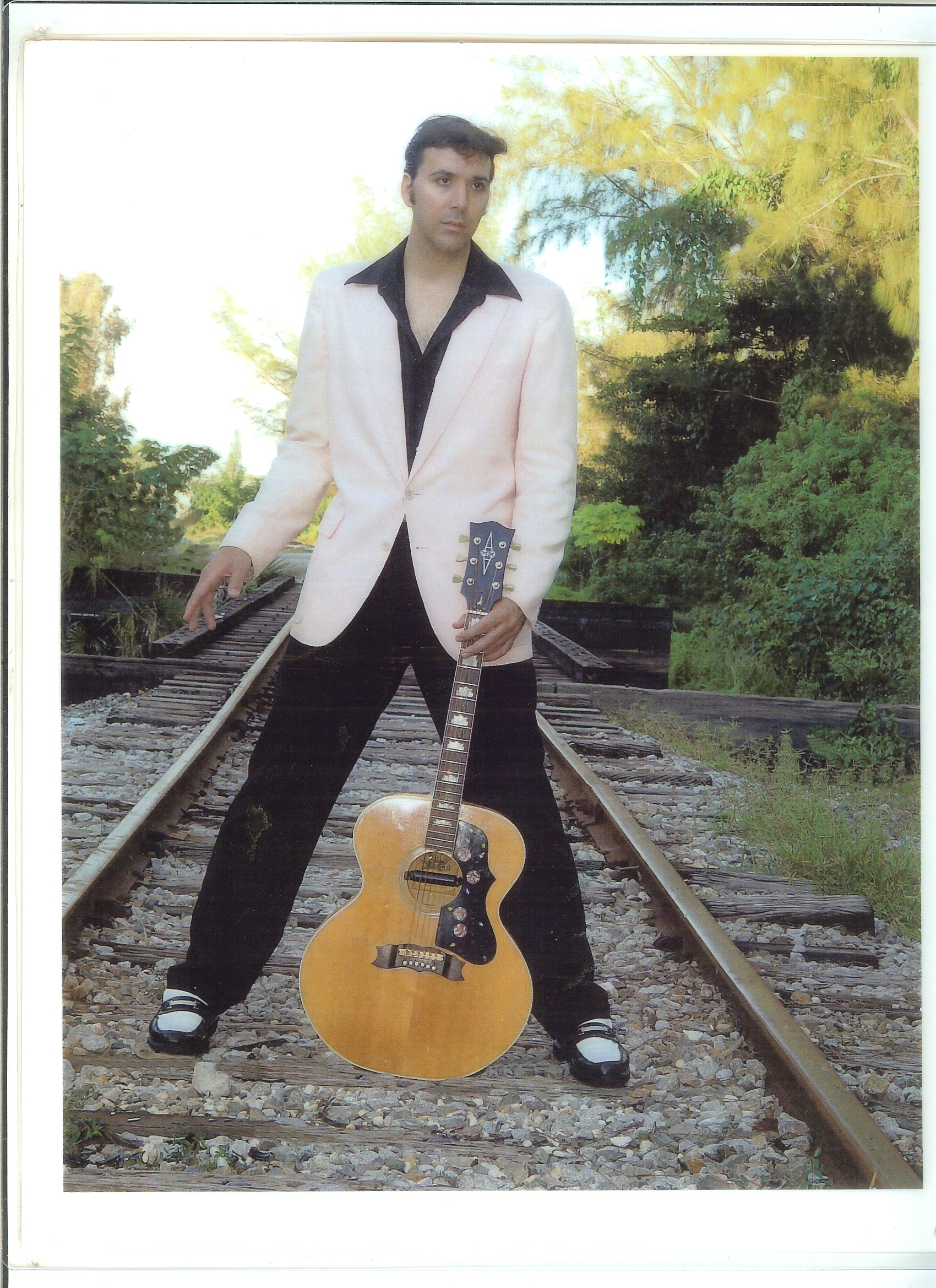 Joe Marino as Elvis Presley 1956