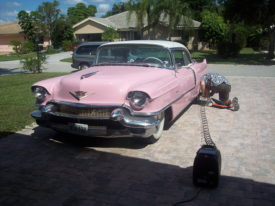 Joes 1956 Cadillac Coupe deVille