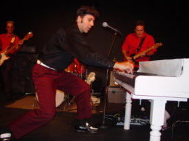 Joe Marino as Jerry Lee Lewis 1957